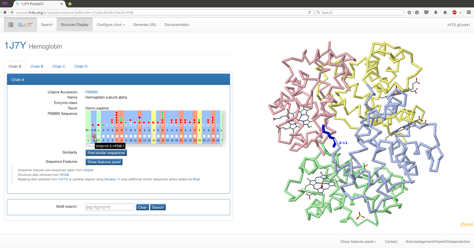 Uniprot_PDB_mapping